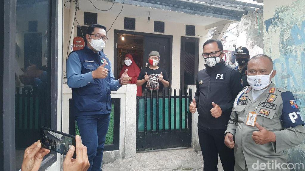 Ridwan Kamil Apresiasi Emak-emak Jadi Tim Pantau Corona di Bogor