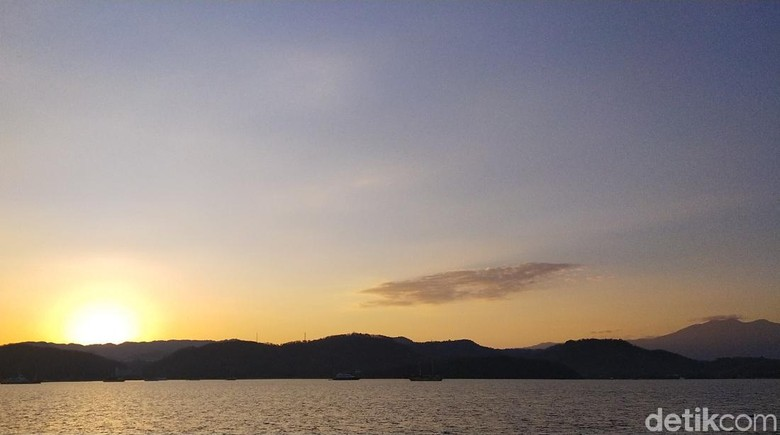Sunrise di Labuan Bajo