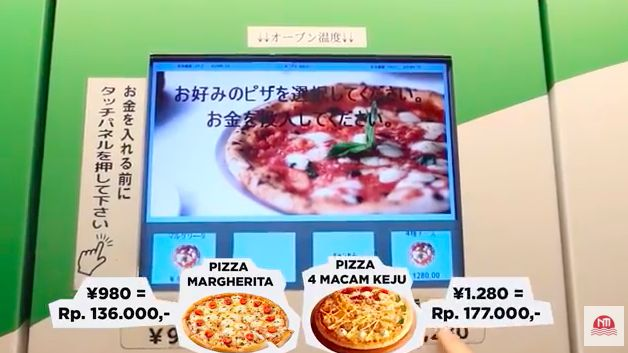 vending machine pizza