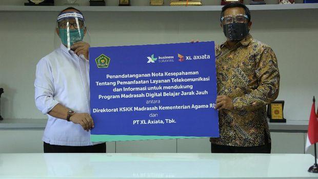 XL Axiata bekerjasama dengan Direktorat Jenderal Pendidikan Islam Kementerian Agama (Kemenag) menghadirkan
