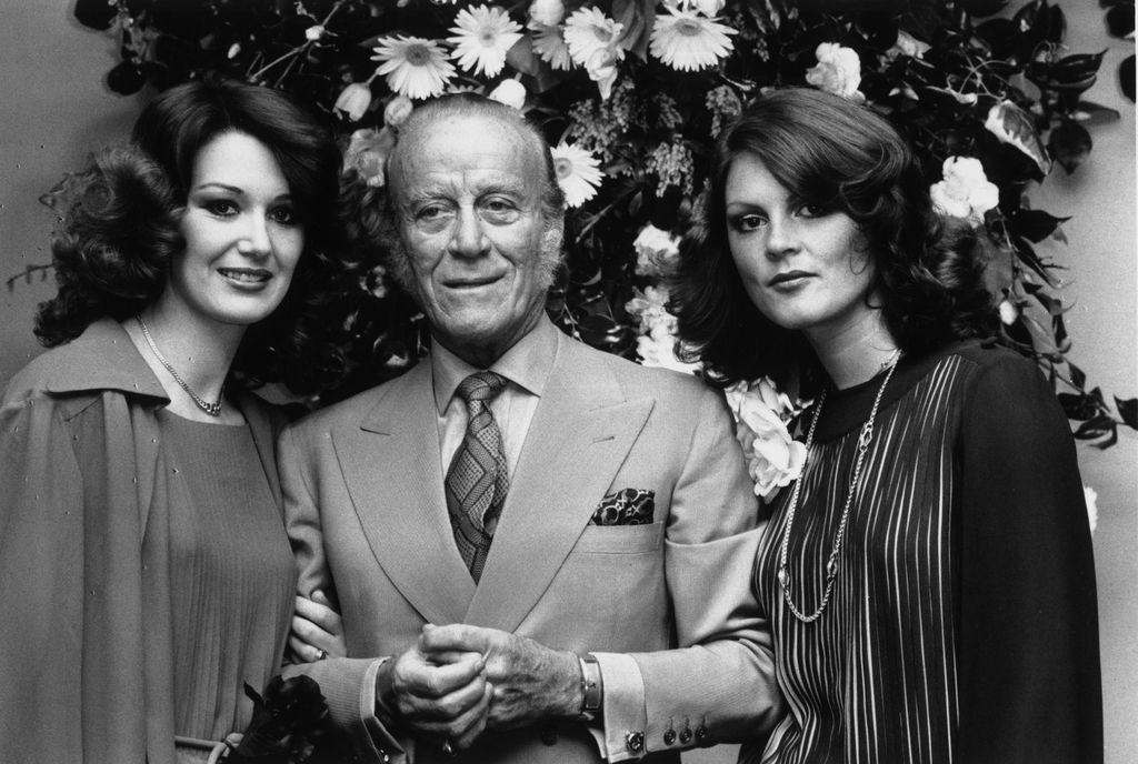 23rd March 1977:  Fashion designer Aldo Gucci, at the opening of his new shop at Bond Street, London.  (Photo by John Minihan/Evening Standard/Getty Images)