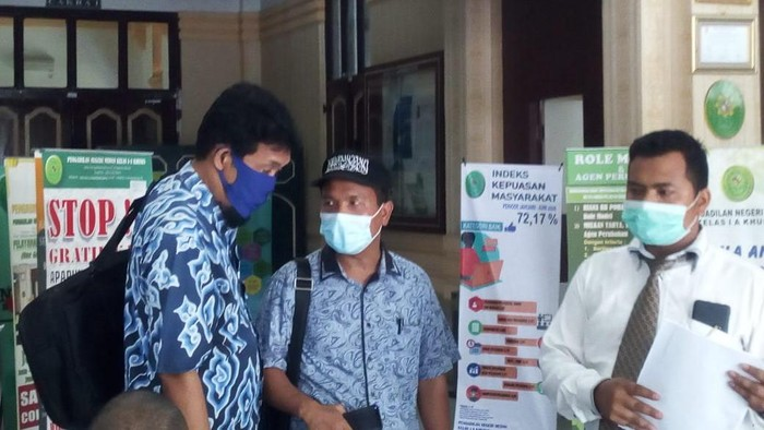 GNPF-U gugat Pilkada Medan (Datuk Haris-detikcom)