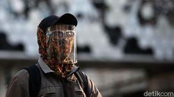 Jangan Dipakai! Masker Buff Tidak Bisa Cegah Paparan Virus Corona
