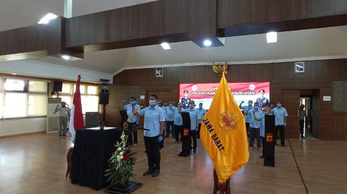 Irjen Rudy Sufahriadi dilantik jadi Ketua PBVSI Jawa Barat
