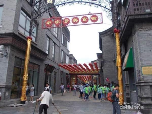 Lorong-lorong di sekitar Jalan Qianmen.