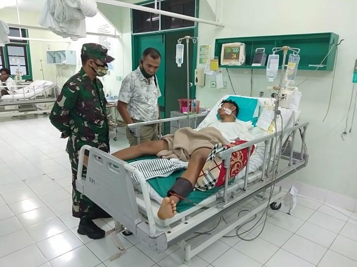 Korban penembakan KKB di Papua dirawat di RS