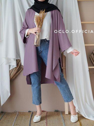 Rekomendasi kemeja lilac dari oclo.official
