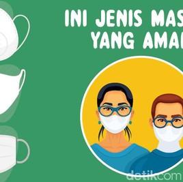 Masker Scuba Akan Dilarang, Ini Pilihan Jenis Masker yang Lebih Aman