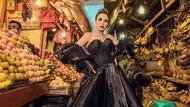 Foto: Melaney Ricardo Pemotretan di Pasar Glodok, Pakai Look Rp 1 Miliar