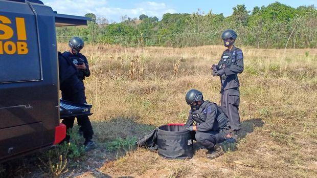 Mortir aktif di Kebun Gowa (Dok Istimewa)