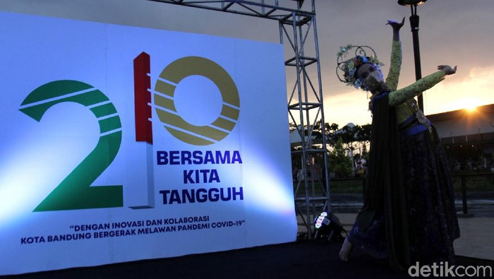Penampakan Logo Hari Jadi Kota Bandung Ke 210