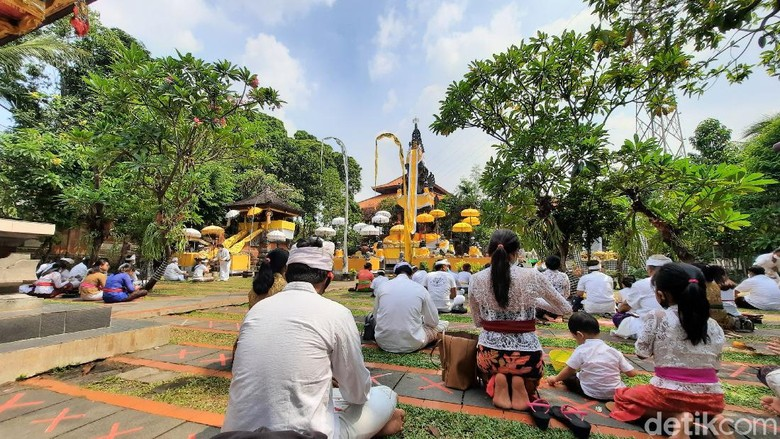 Perayaan Galungan di Jakarta
