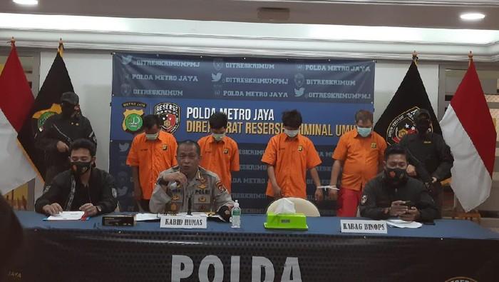 Polda Metro Jaya tangkap komplotan perampok minimarket