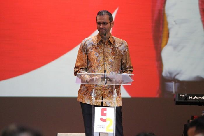 Presiden Direktur dan CEO Indosat Ooredoo, Ahmad Abdulaziz Al-Neama