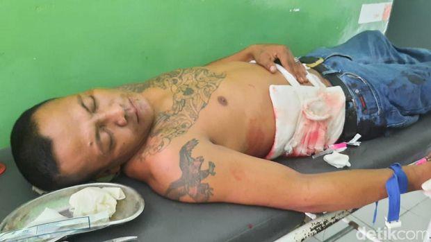 Pria di Polman menyerahkan diri usai menikan seseorang yang disebut sempat hampir membunuhnya (Abdy Febriady/detikcom)