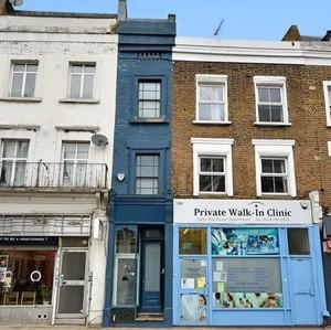 Foto Penampakan Rumah Tersempit di London, Bagian Dalamnya Bikin Kaget