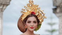 Pesona Ashanty Berbusana Bali yang Banjir Pujian Netizen, Disebut Mirip Putri