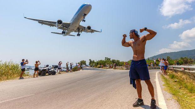 Bandara Skiathos di Yunani