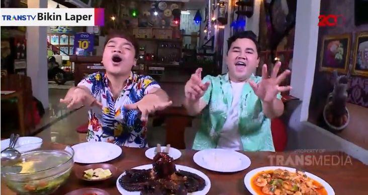 Bikin Laper Trans TV nikmatnya gurita BBQ dan udang rica