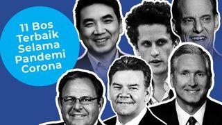 11 CEO Berpredikat Pemimpin Terbaik Selama Corona