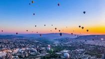 Indahnya Matahari Terbit di Cappadocia