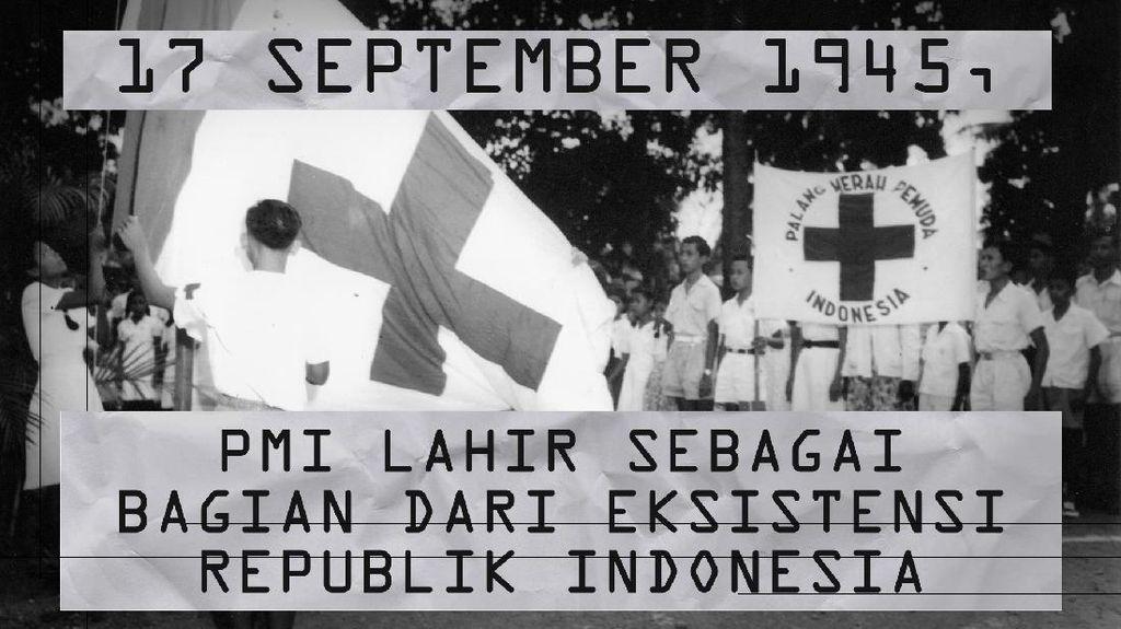 Hari Ini Tahun 1945, PMI Lahir di Indonesia