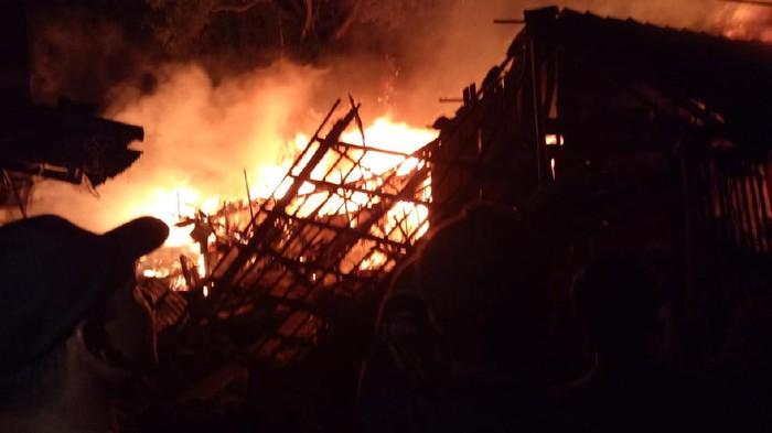 Pasar tradisional Cepogo, Boyolali terbakar, Kamis (17/9/2020).