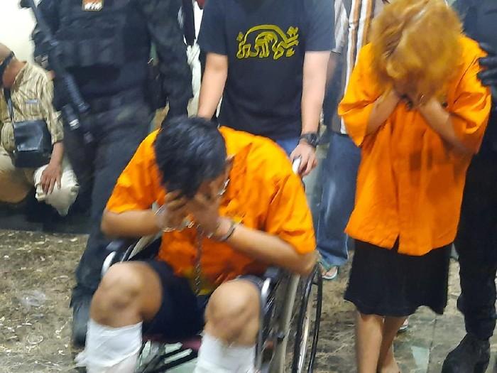 Penampakan 2 pelaku mutilasi di Apartemen Kalibata City