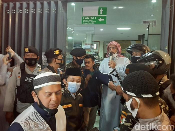 Pesan Syekh Ali Jaber Untuk Jemaah di Malang