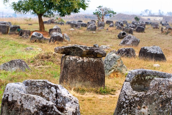 Plain of Jars pun masuk ke dalam situs Warisan Dunia UNESCO. (iStock)