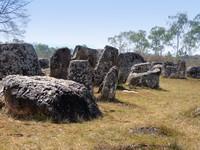 Situs ini berupa bangunan silinder mirip toples di area Xiangkhoang Plateau, Laos. (iStock)