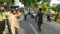 Ditlantas Polda Metro Olah TKP di Lokasi Bripda Andry Tewas di Jaktim