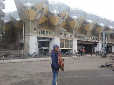 Ada Rumah Berbentuk Kubus di Belanda