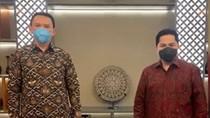 Erick Thohir Bantah Ahok soal Direksi Pertamina Hobi Lobi Menteri