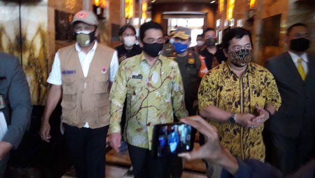 Wagub DKI Ahmad Riza sidak 2 gedung cek penerapan protokol kesehatan