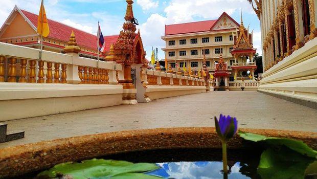 Candi di Khon Kaen, Thailand.