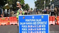 Cegah Corona, 5 Jalan di Kota Bandung Dibuka Tutup