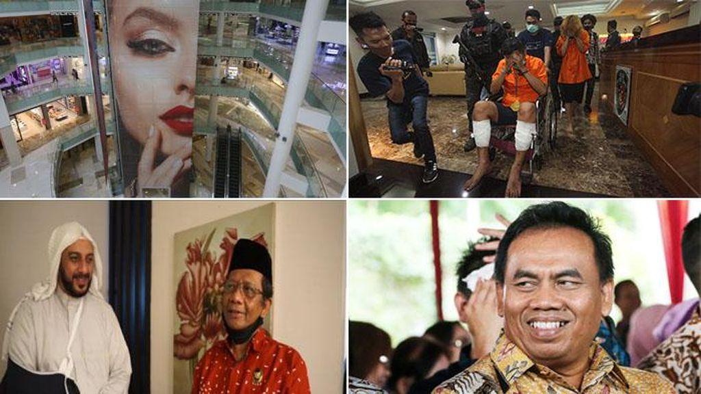 Top 5 Foto Pekan Ini: Penusukan Syekh Ali Jaber-PSBB Ketat