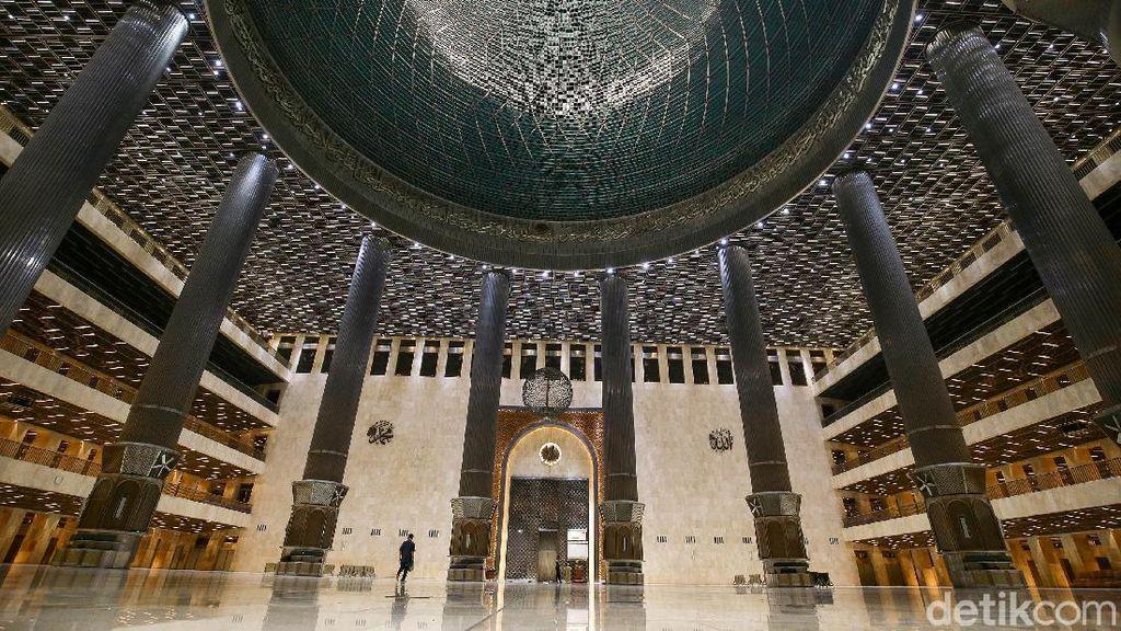 Wajah New Istiqlal, Masjid Terbesar di Asia Tenggara