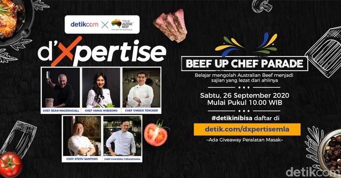 Gratis! Belajar Masak Daging Bersama 5 Celebrity Chef