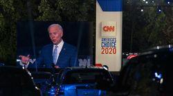 Biden Dituding Curang Pakai Earpiece Saat Debat Trump
