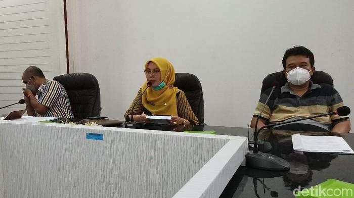 Jumpa pers seleksi CPNS Pemkab Kendal, Jumat (18/9/2020).