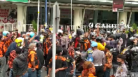 Video Tegang! Massa Geruduk Mau Bubarkan Deklarasi KAMI di Magelang