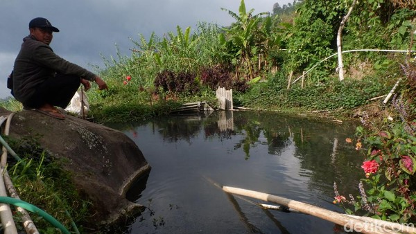 Adalah warga Dusun Bitingan, Desa Kepakisan, Kecamatan Batur, Banjarnegara. Berada di lembah pegunungan di Dieng, sumber mata air panas di dusun ini pun melimpah. Sebagian warga memanfaatkannya untuk mengairi kolam ikan air tawar.