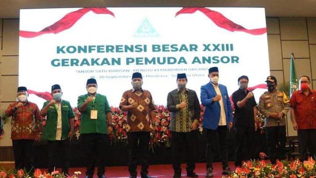 Gubernur Sulut: GP Ansor Harus Tetap Jadi Ujung Tombak Kerukunan Nasional