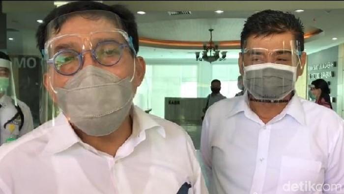 Machfud-Mujiaman Jalani Tes Kesehatan Lanjutan