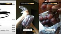 Pesan Anggur Merah Lewat Ojol, Wanita Ini Malah Dibelikan Buah Anggur