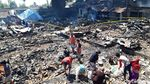 Penampakan Pasar Cepogo Boyolali yang Ludes Terbakar