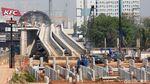 Melihat Progres Pembangunan Depo LRT Jabodebek
