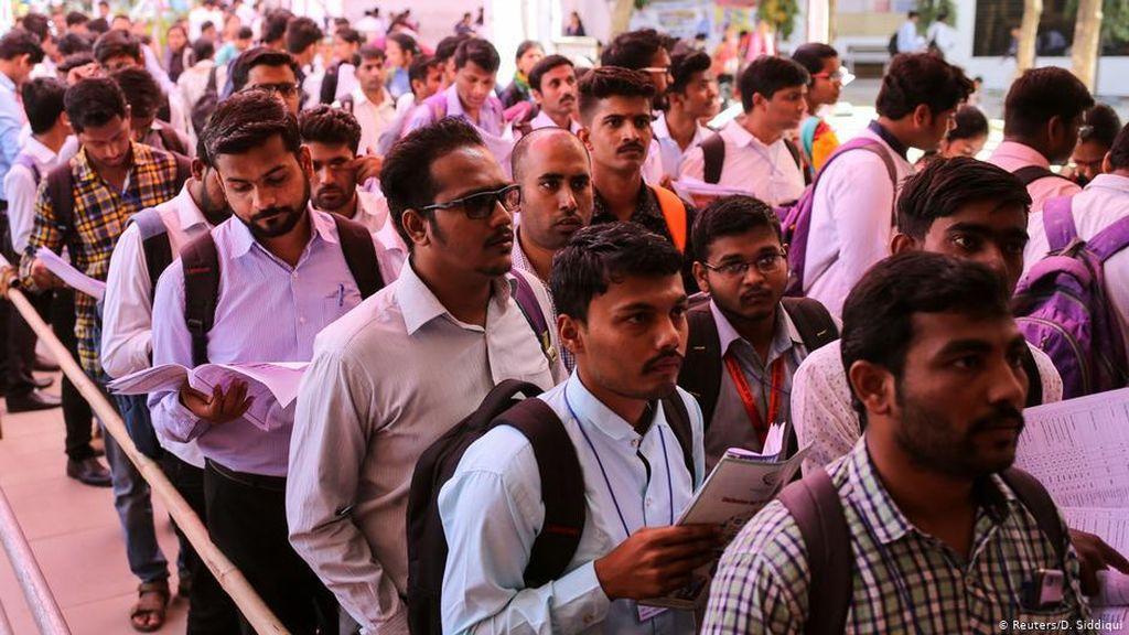 Pemulihan Krisis Ketenagakerjaan di India Butuh Waktu Panjang